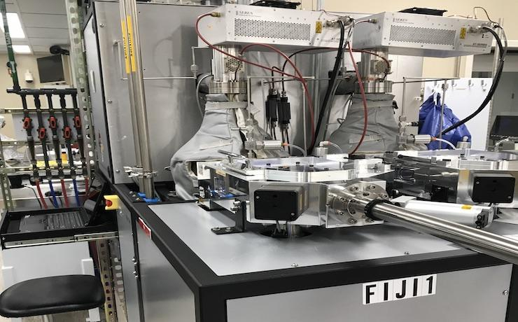 photo of Fiji1 in SNF Cleanroom